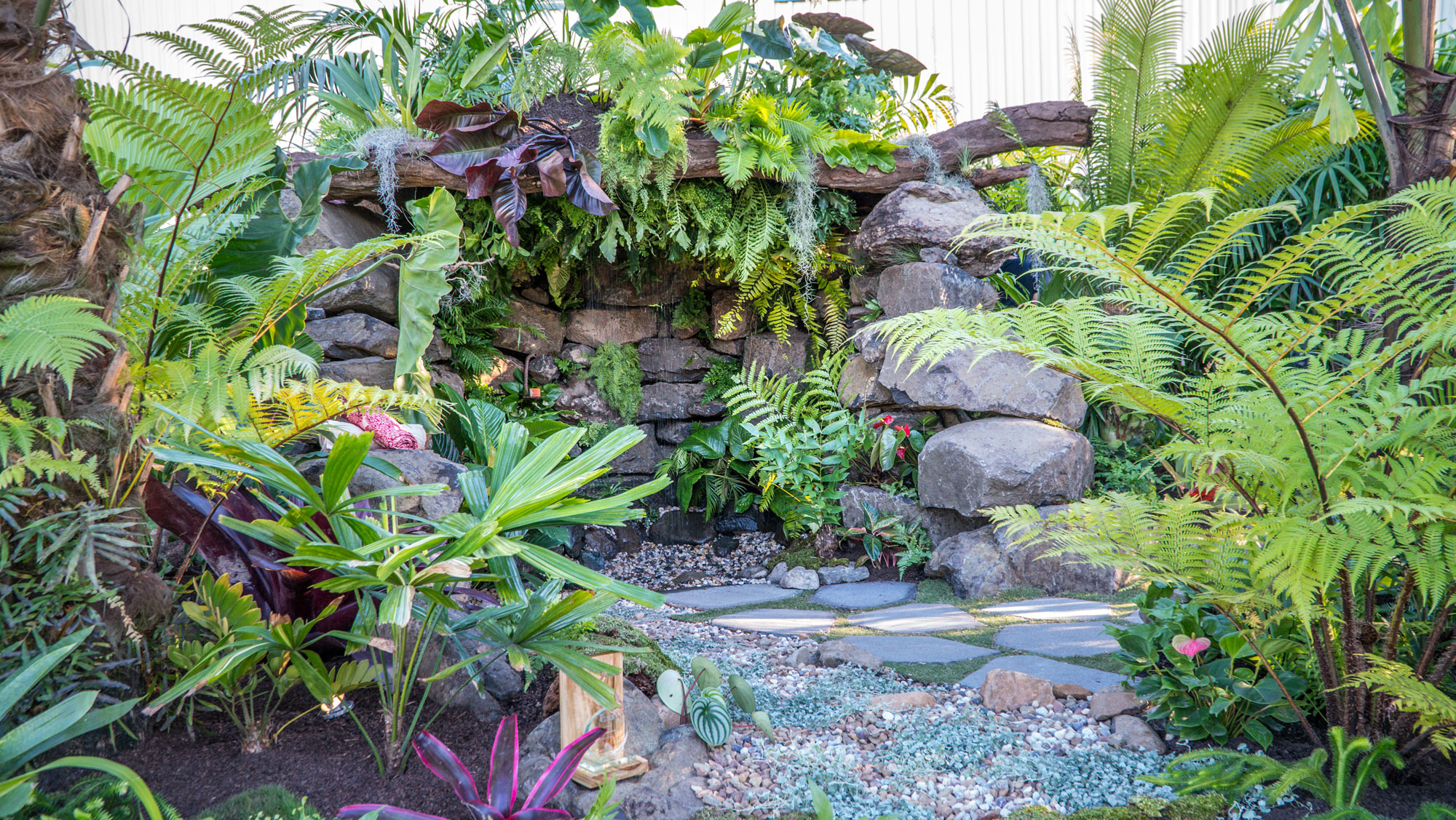 Beautiful Landscape Garden Display