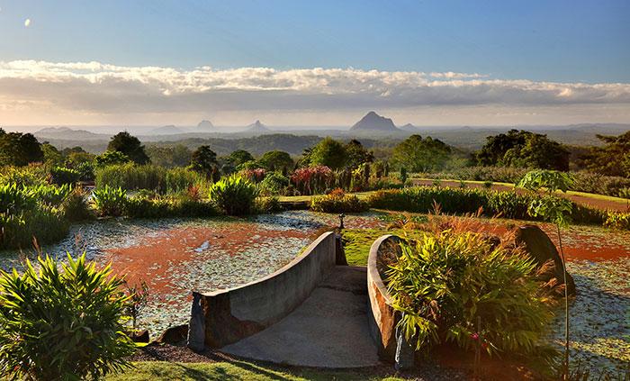 View from Maleny Botanic Gardens