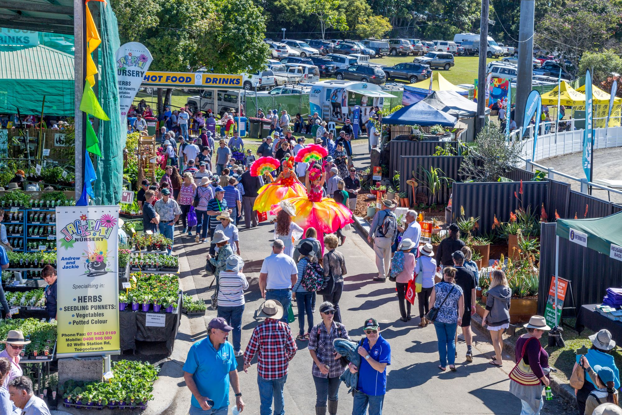 Crowds at Queensland Garden Expo 2019