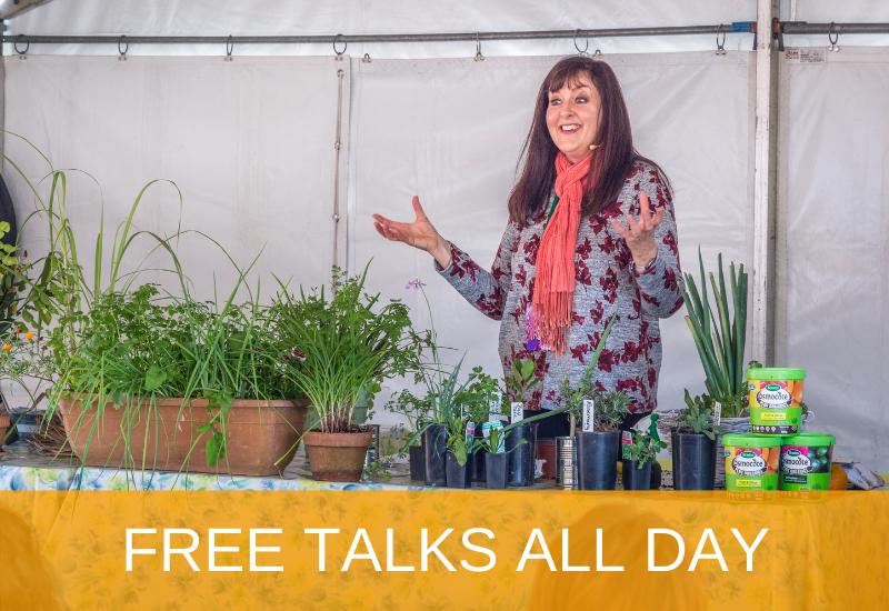 Free Talks at Qld Garden Expo